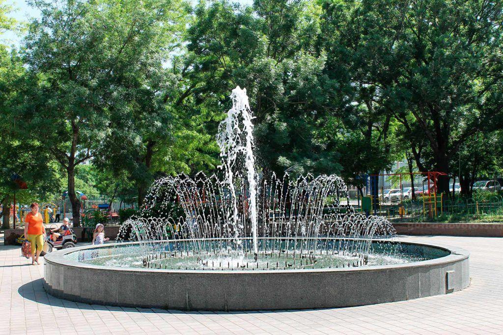 Парк им. Фрунзе в Новороссийске