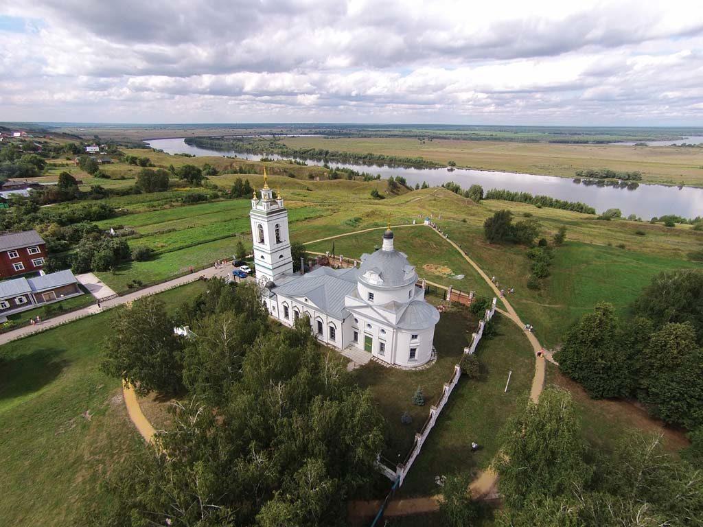 г. Рязань, Церковь в селе Костантиново