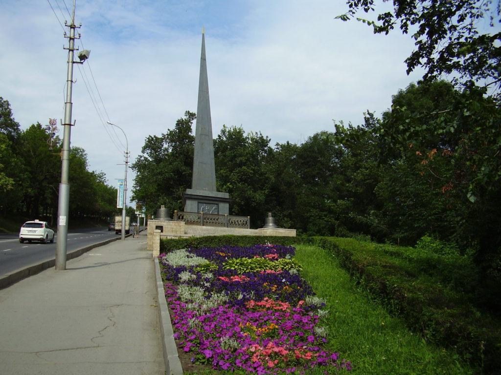 Обелиск Петру I в Липецке