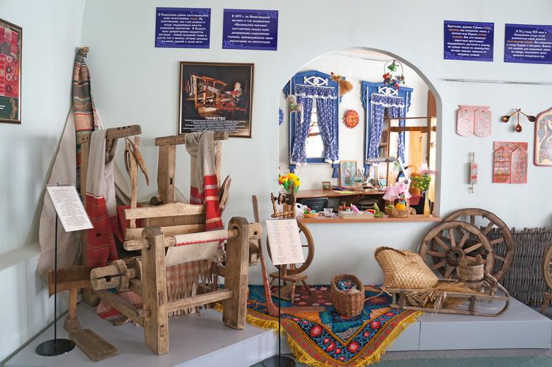 Музей народных ремесленных искусств, г. Елец