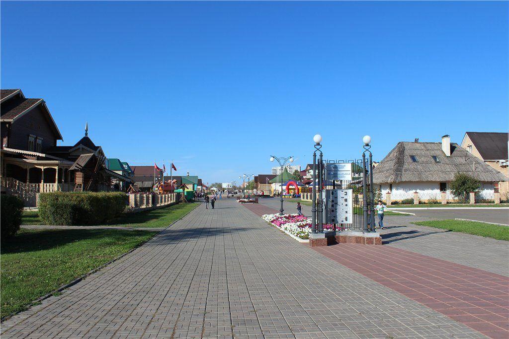 """Музейный комплекс """"Национальная деревня"""" в Оренбурге"""