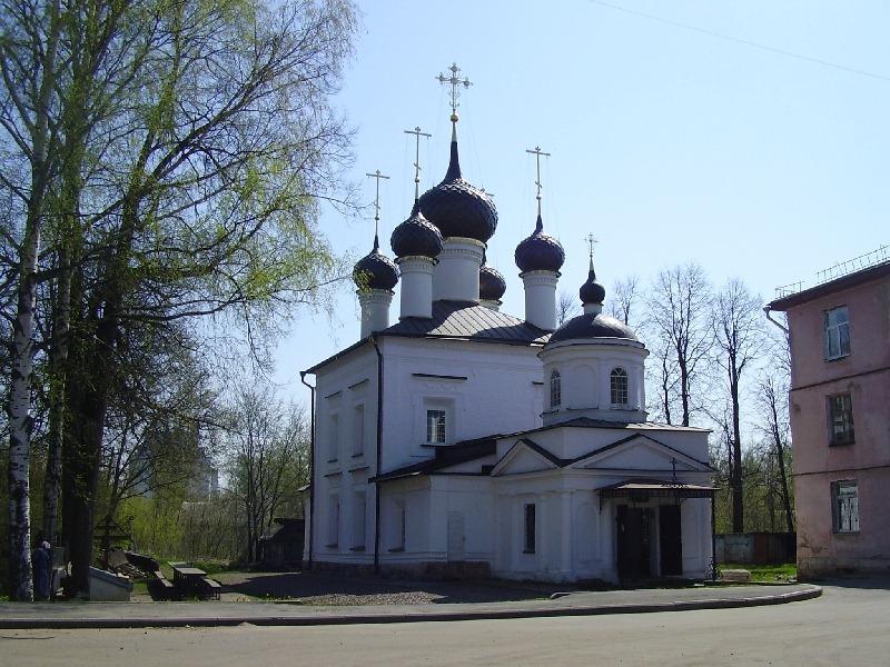 Храм иконы Казанской Божьей матери в Рыбинске