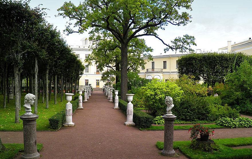Собственный садик императрицы Марии в Павловске