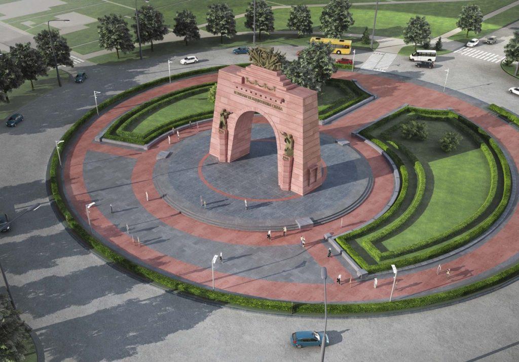 г. Красное село, Триумфальная арка