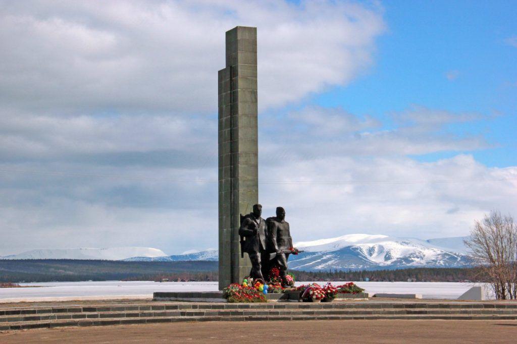 Памятник защитникам Кольского Заполярья