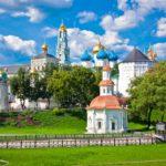 Город Сергиев Посад в Московской области