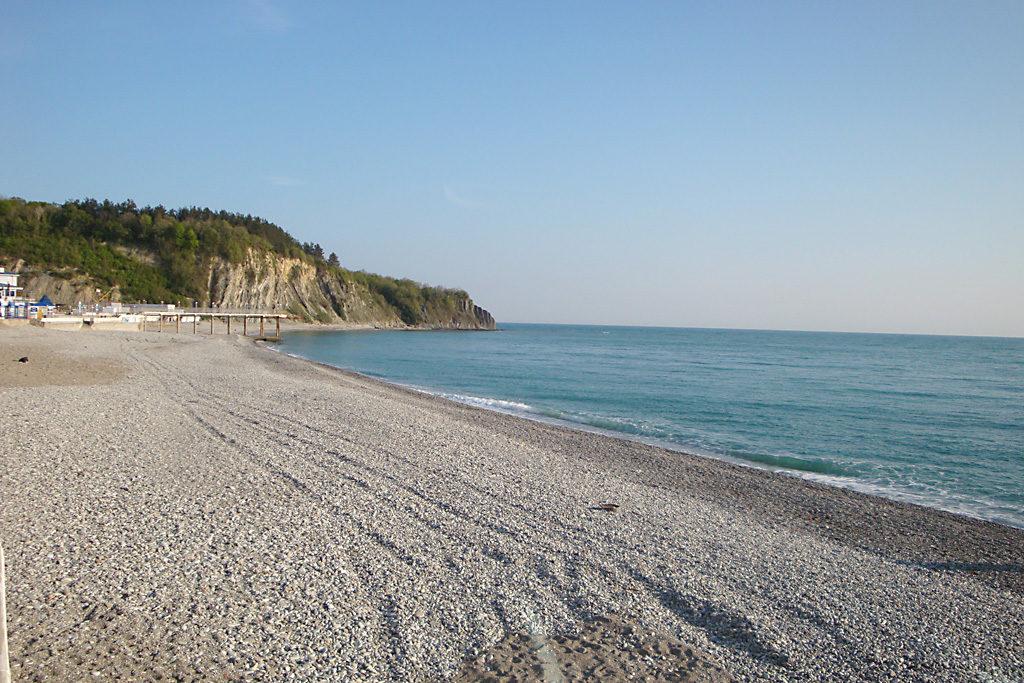 Пляж Ольгинки