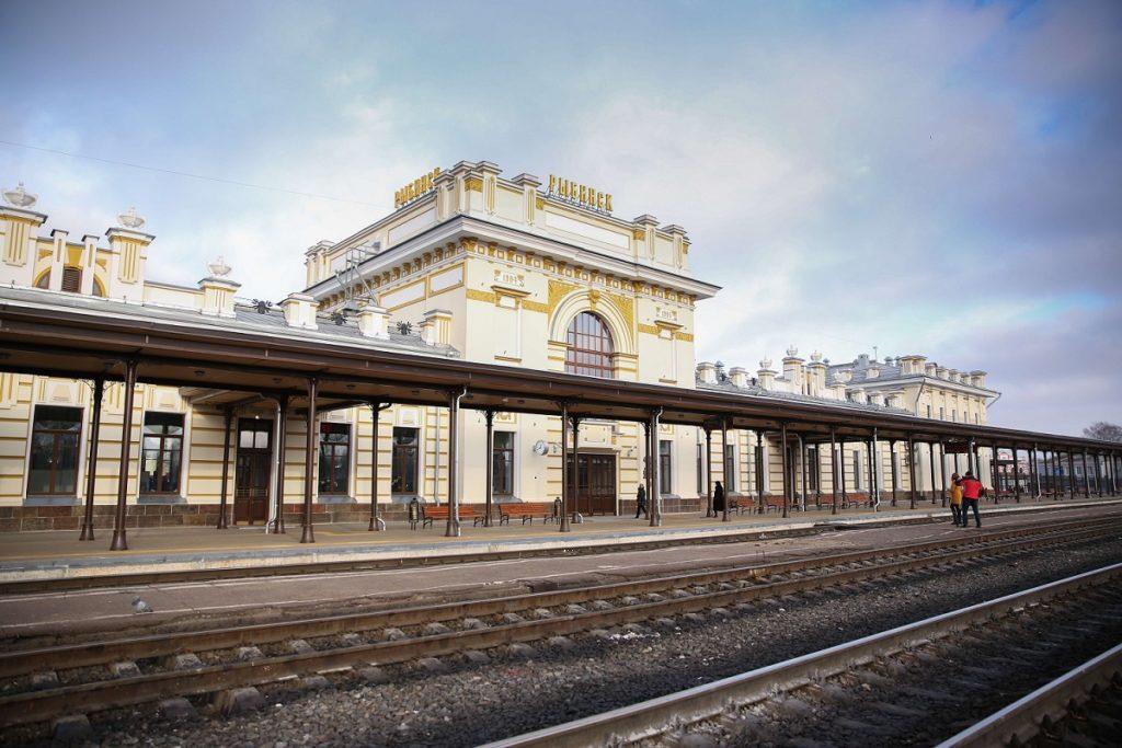 Железнодорожный вокзал Рыбинска