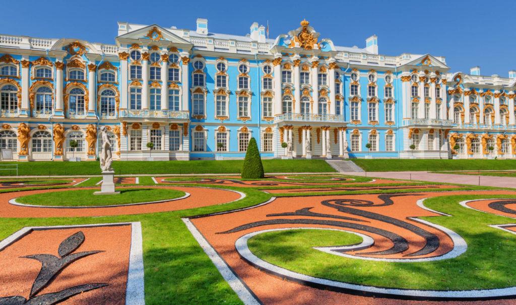Екатерининский дворец и парк в Пушкине
