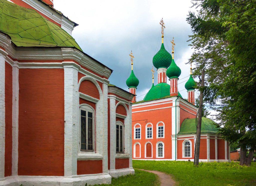 Церковь Александра Невского на Красной площади Переславль-Залесского