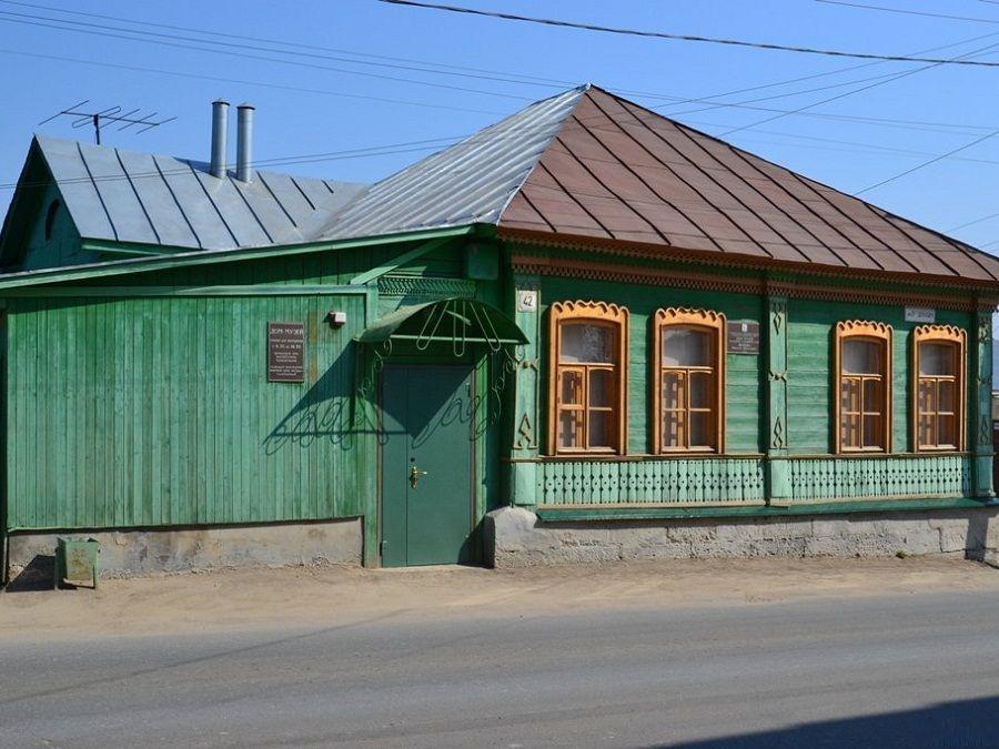 Дом художника Н.Н.Жукова, г. Елец