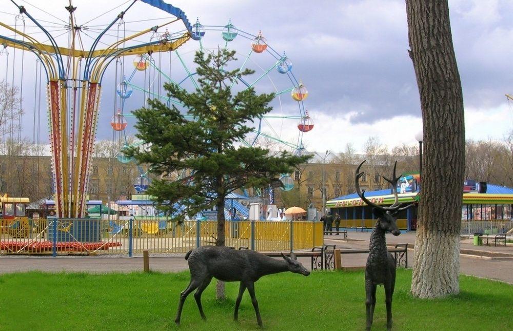 """Парк """"Тополя"""" в Оренбурге"""