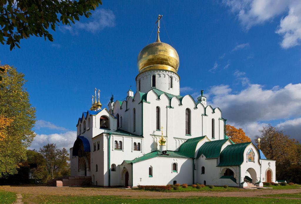 Феодоровский собор в городе Пушкин