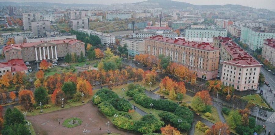 Мурманск – город – герой за полярным кругом