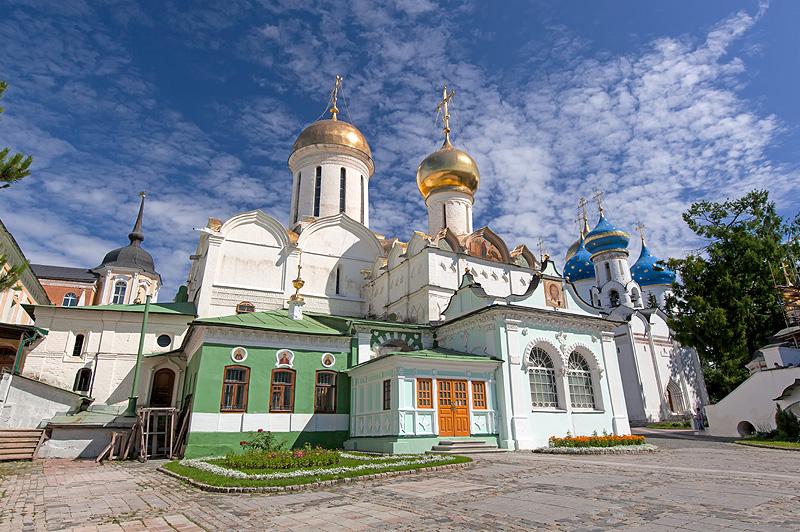 Никоновская церковь в Свято-Троицкой Сергиевой Лавре