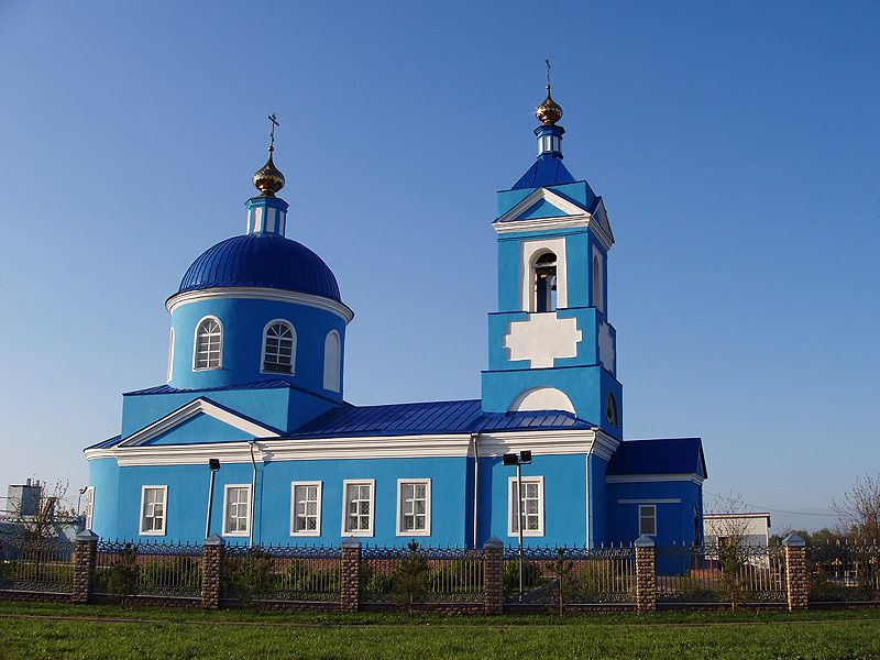 Храм Покрова Божией Матери близ Нижнекамска