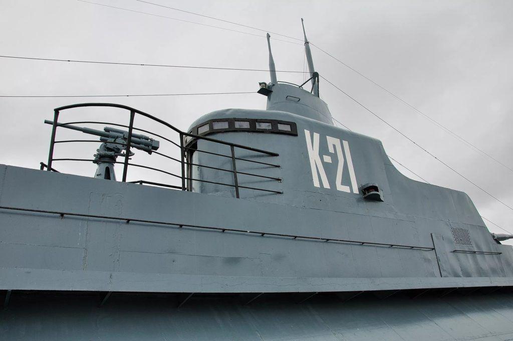 "Пдводная лодка музей ""К-21"" в Мурманске"