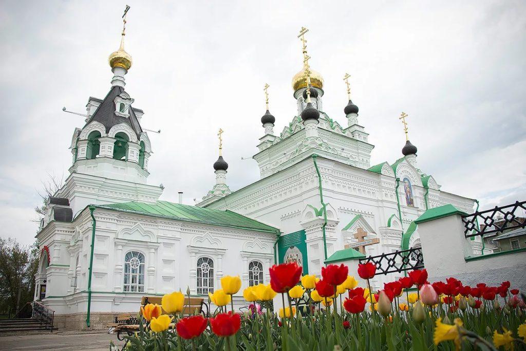 Иверская церковь в городе Орел