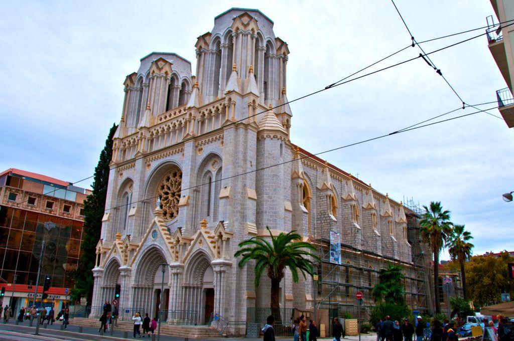 Крупнейший костел Ниццы - Нотр-Дам