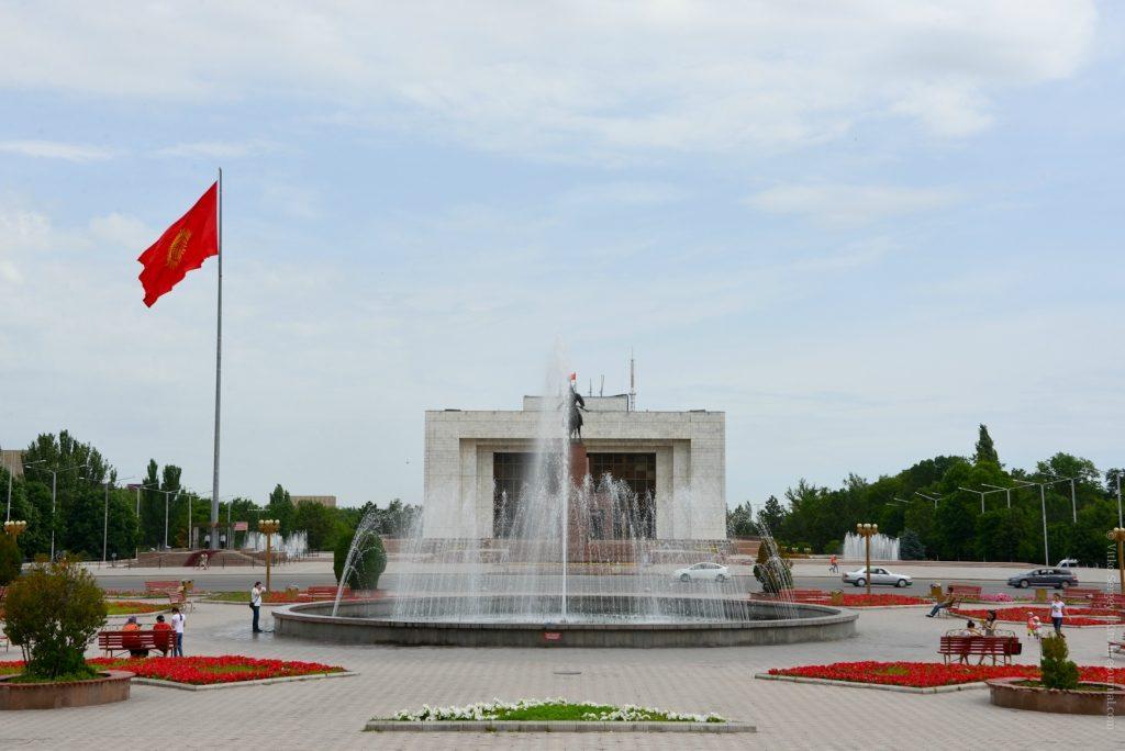 Площадь в Бишкеке