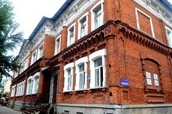 Здание бывшей земской больницы в Сыктывкаре
