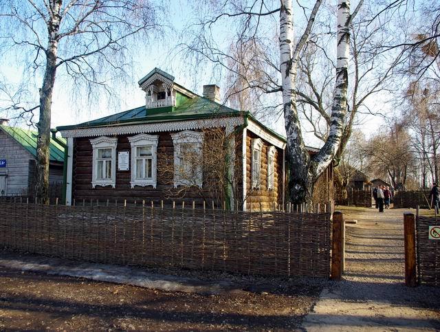 г. Рязань, Дом Есенина