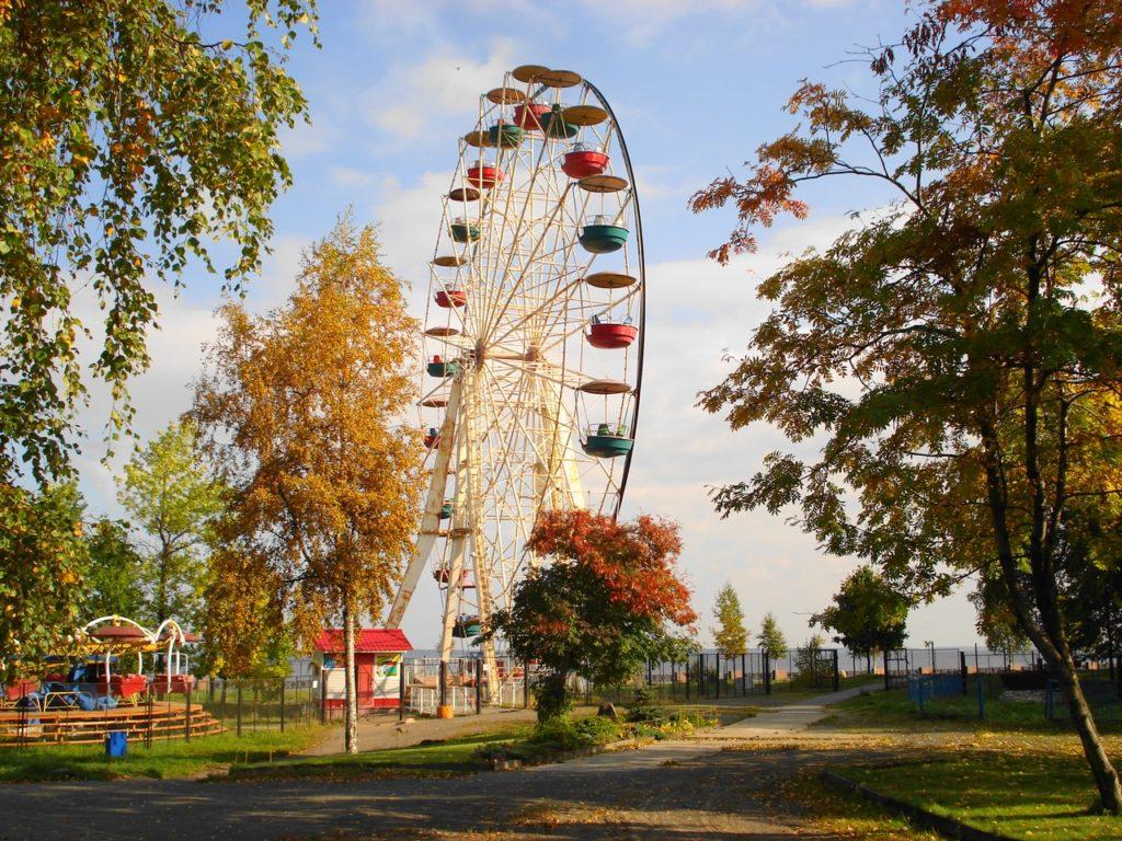 Центральный парк культуры и отдыха в Петрозаводске