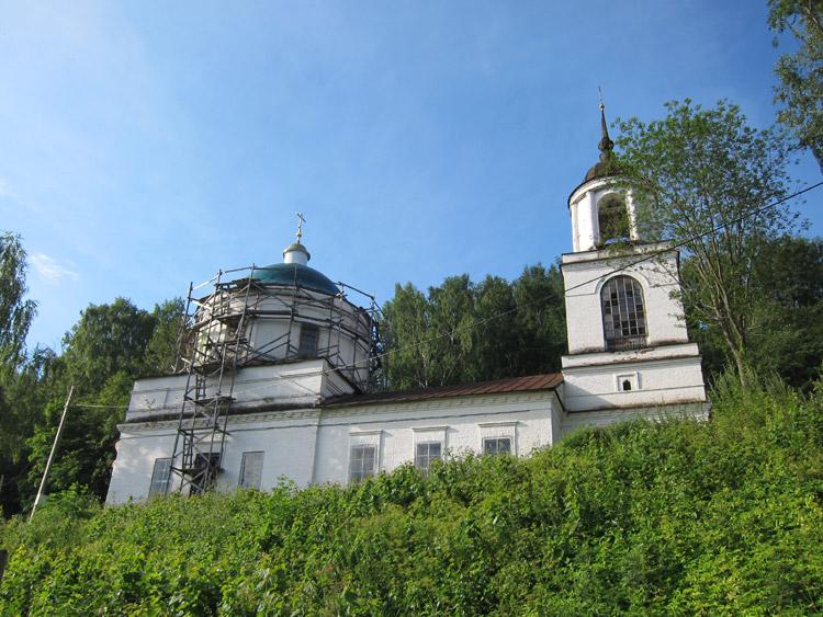 Преображенская церковь в Плесе