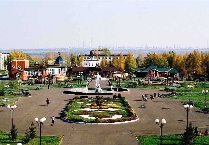 Городской парк Лемаева в Нижнекамске
