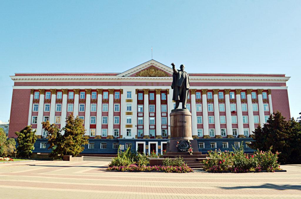 Красная площадь города Курска