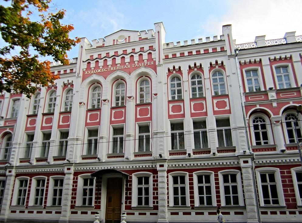Художественная галерея (бывшее Александровское реальное училище) в Смоленске