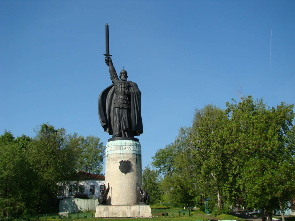 Памятник Илье Муромцу, г.Муром