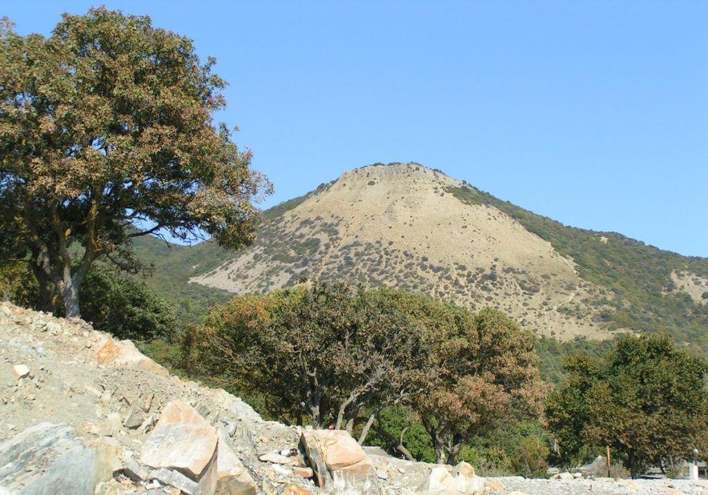 Гора «Лысая» близ Небуга