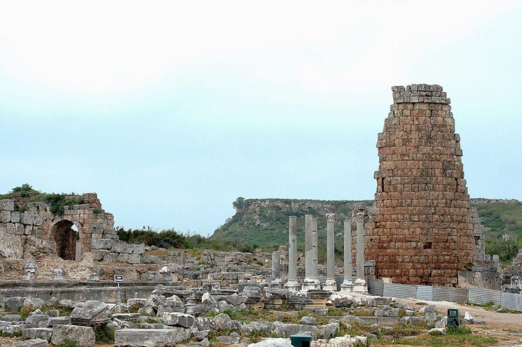 Турция, Руины города Перге