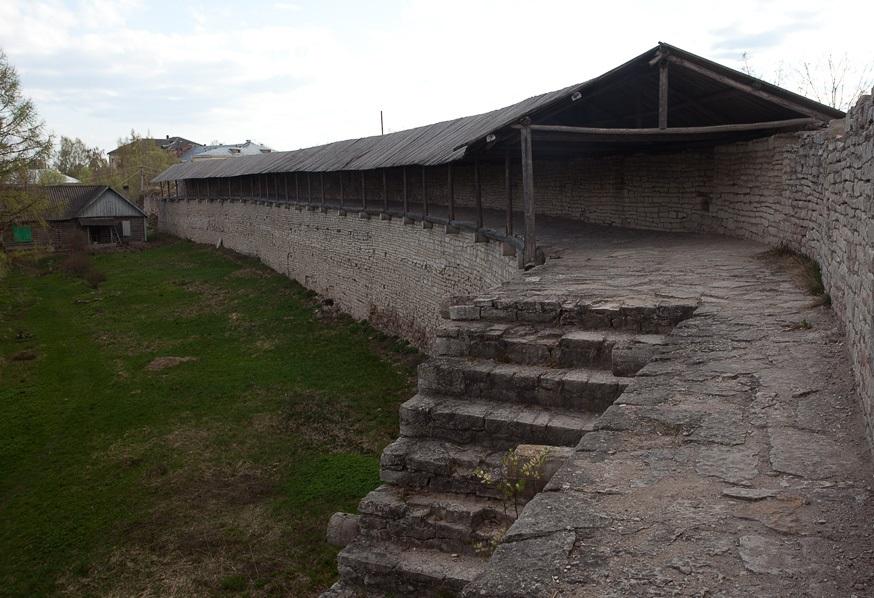 Крепость в городе Порхов