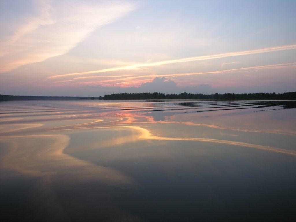 Водохранилище Рыбинска