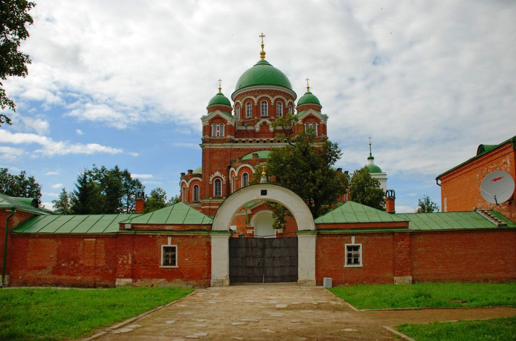 Спасо-Бородинский женский монастырь близ Можайска