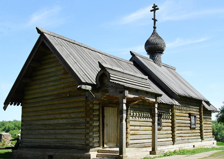 Церковь Дмитрия Солунского в Старой Ладоге