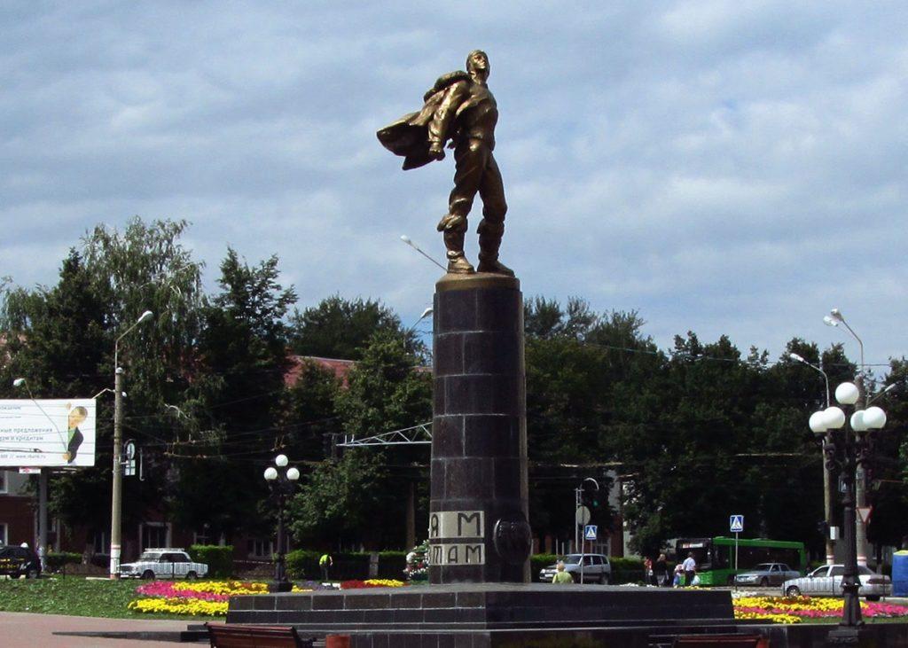 Памятник стратонавтам в Саранске