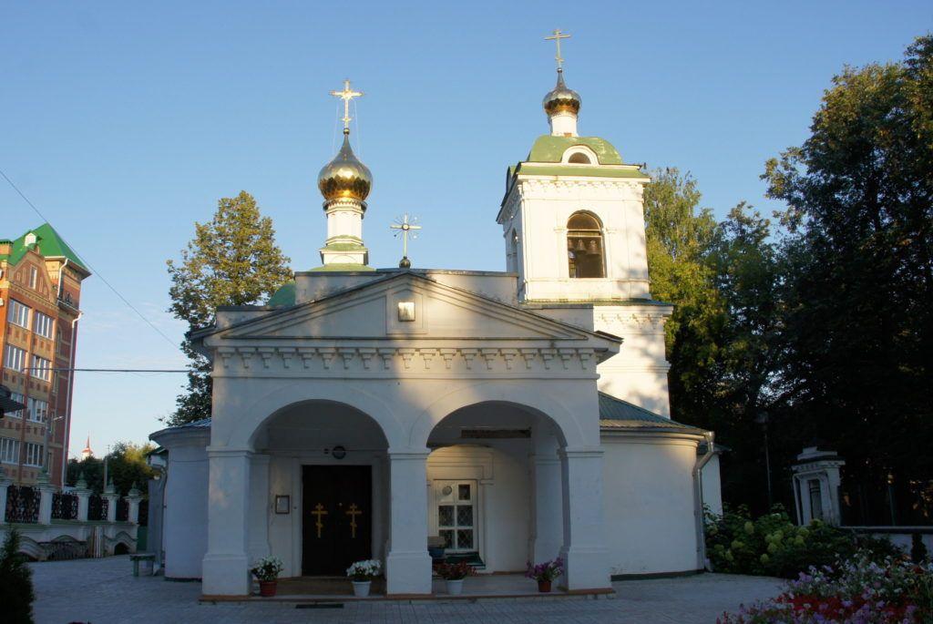 Тихвинская церковь Йошкар-Олы