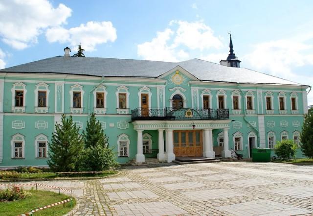 Патриаршие покои в Свято-Троицкой Сергиевой Лавре