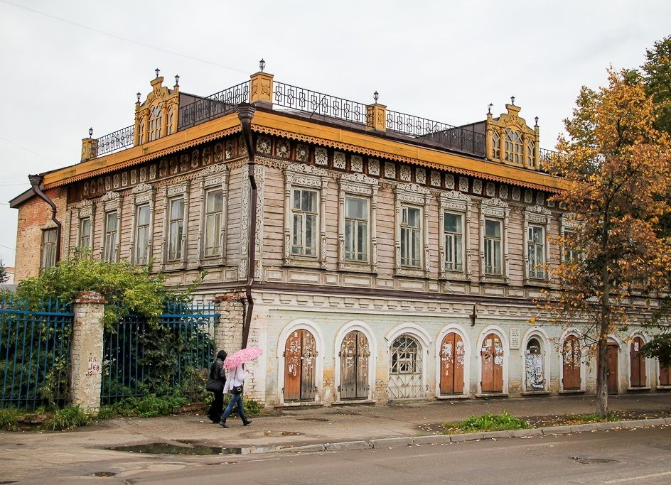 Дом Наумова в Йошкар-Оле