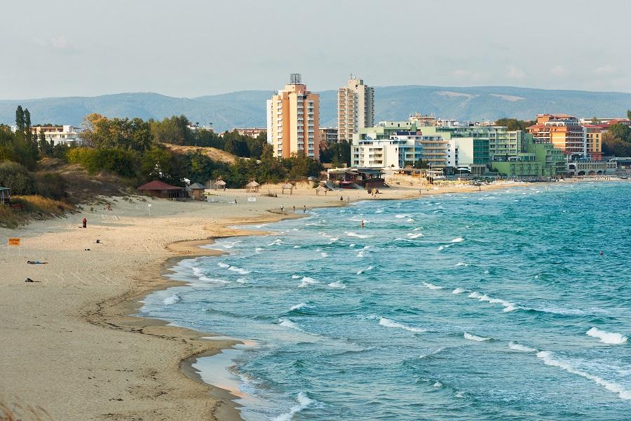 Пляжи и море Несебра