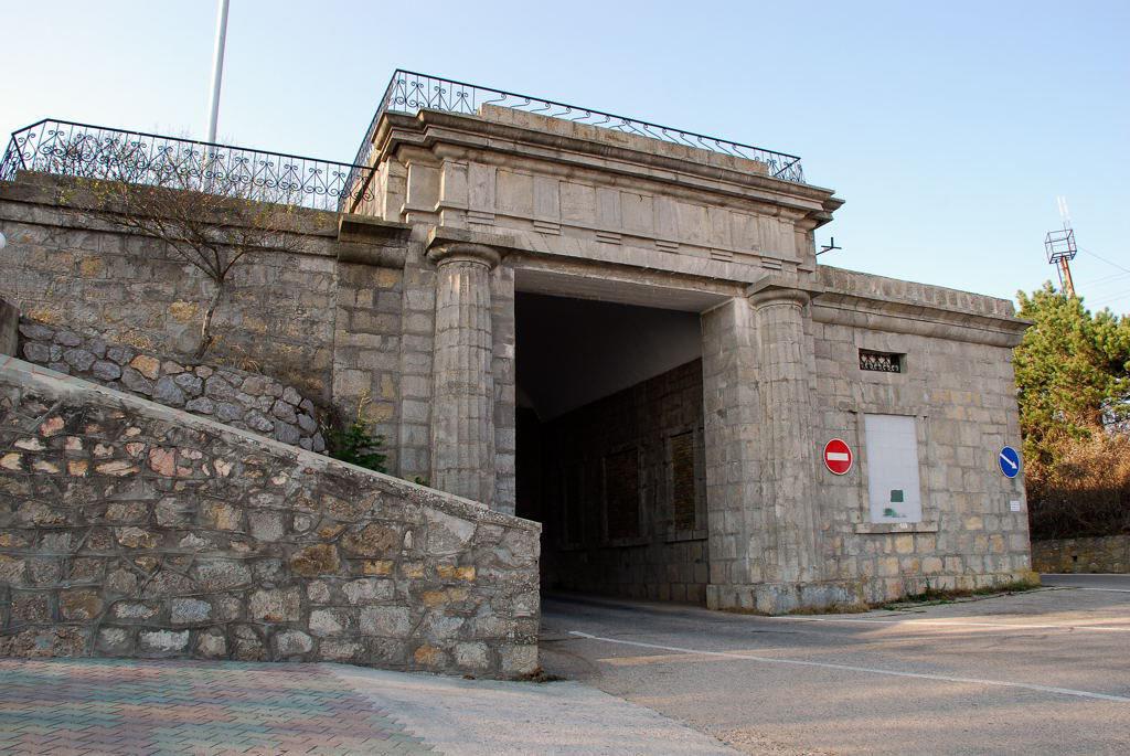 Байдарские ворота Фороса