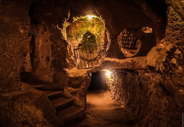 Подземный город