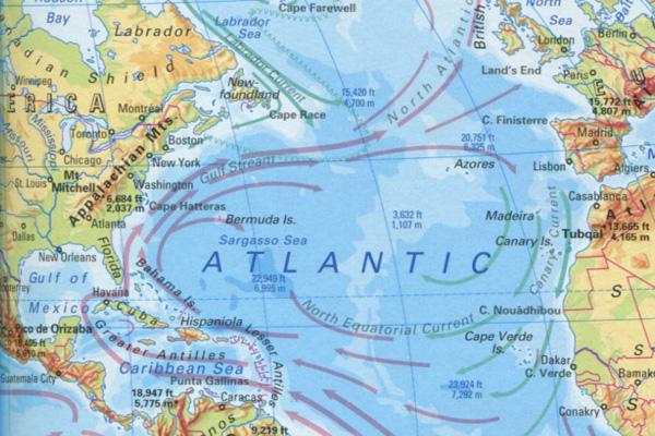 атлантические течения