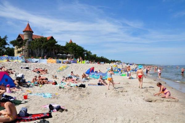пляжный отдых в польше