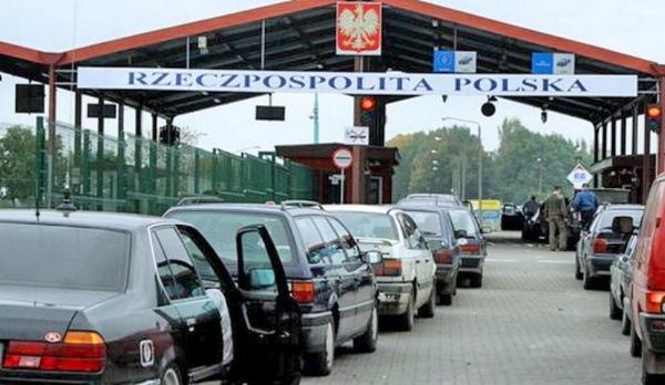 пункт пропуска на польской границе