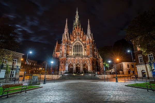 храм в Кракове