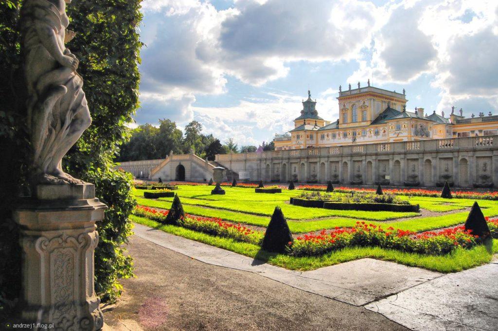 Вилянувский дворец близ Варшавы